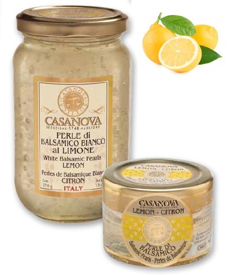 CS0633 Balsamic Pearls Flavoured LEMON 370g - 1
